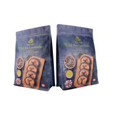 Doypack Eco-Friendly Product Flexible Coffee Tea Snack Fruit Powder Snack Nuts Ziplock Bag Printed Laminated Paper Plastic Packaging Green Food Bag