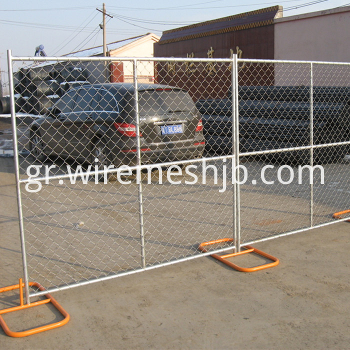 chain link mesh temporary fence