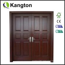 Hot Design Main Double Door Wooden Doors (wooden door)