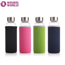 Personalized Fancy Pyrex High Quality Borosilicate Glass Water Bottle