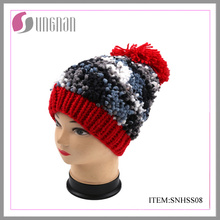 Winter Fashion Girls′ Hat with POM POM