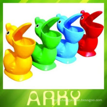 Kids Plastic Toy Garbage Bin for Kindergarten