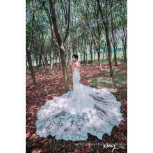Big Train Mermaid Wedding Dress Bridal Gown