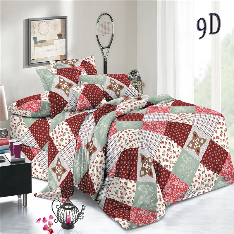 Plaid Woven Polyester Sheets