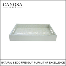 Hot Sale Hotel Bathroom Amenity Trays with River Shell