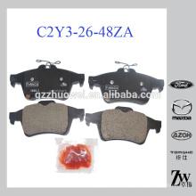 Almofadas de freio de disco de carro por atacado para MAZDA 3 / Primera OEM: C2Y3-26-48Z