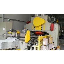 Balde cônico de alta velocidade que faz a linha de produção para embalagem de latas de produtos químicos