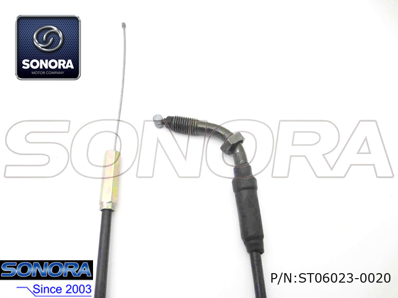Qingqi Scooter QM125-2D Throttle cable assy.