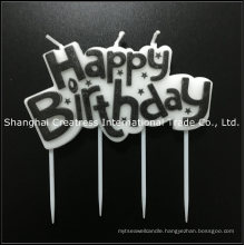 Worldwide Supply Wholesale Unique Amazing Perfect Printing Paraffin Wax Happy Birthday Cake Candle for Girls