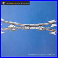 anping factory razor barbed wire for military