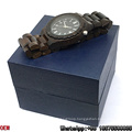 Top-Quality Ebony-Wooden Watches Quartz Watches