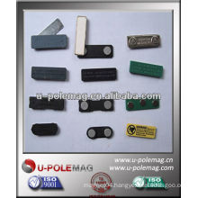 Magnetic Name Badge Holder With 3M self-adhensive