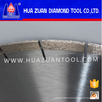 Hoja de sierra de mampostería de 400 mm para mármol