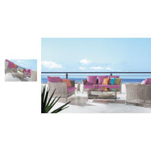 Exterior / Jardín / Ratán / Sofá de Ocio (6014)