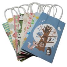 Spielzeug Verpackung Kraftpapier Tragetasche Bekleidungsgeschäft Einkaufen Verpackung Papiertüte mit Griffen