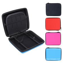 Hard EVA Storage Zip Case Protetor Holder Bag para Nintendo 2DS Console Color Carry Handle Espaço de armazenamento para cartões Fone de ouvido