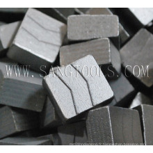 Supply Professional Diamond Tool Segments, segments de diamant pour Granite