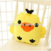 Multi-use animal air conditioning blanket plush pillow creative birthday gift for girls
