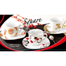 Cerámica gres porcelana de cerámica SGS CE / UE CIQ EEC taza de té de café de cerámica