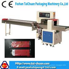 Máquina de empacotamento horizontal automática do saco de fluxo do papel de bolso