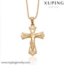 32181-Xuping venta caliente joyería de imitación promoción cruz colgantes
