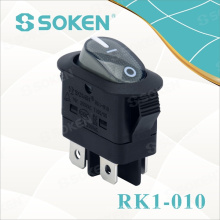 Dpst Light Rocker Switch mit Kc Zertifikat 16A 250VAC