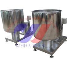 Tanque de mezcla de alta velocidad de acero inoxidable