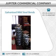 Durable and Rust Resistant Galvanised Mild Steel Bends