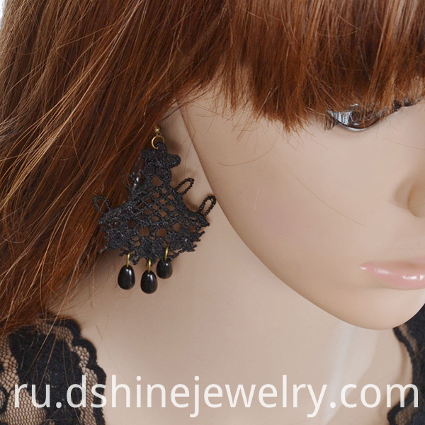 Lace Drop Pretty Earrings
