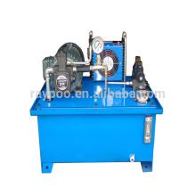 Sistemas hidráulicos para la cinta de bopp máquina de corte