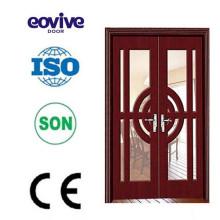 Precio del arco de puerta de madera en blanco diseño europeo
