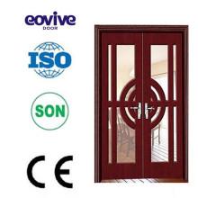 European design blank wood door arc price