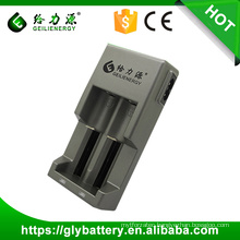 2016 New GLE847 OEM Two Slot Charger for 3.7V 18650 Li-ion Battery
