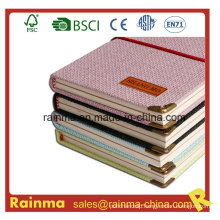 Nice Design Knit Hardcover Paper Notebook for Gift