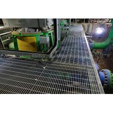 Jimu Hot DIP Galvanized Steel Grating Forge Welded Plain or Serrated