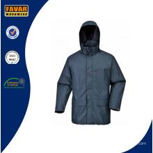Großhandel hochwertige Polyester Regenmantel mit PU-Beschichtung