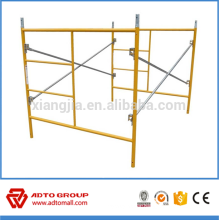 "5'x6'4"" Galvanized/Powder Coated C-lock frame scafolding for sale"