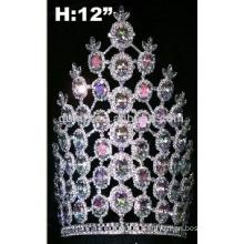 turquoise tiara crown with adjustable band