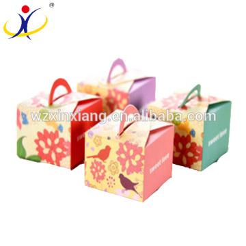Caixa de embalagem de presente de papelão de luxo para jóias