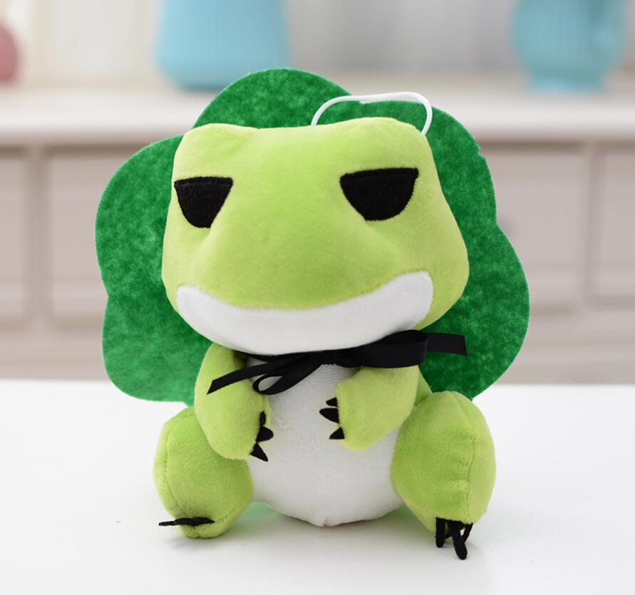 Frog Shaped Plush Toy