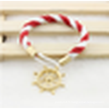 Bracelet en or rose en coton