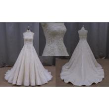 Appliqued A-Line Vestido De Noiva