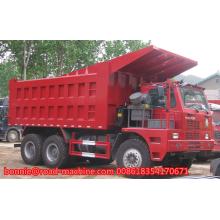 sinotruk 6wheel Mining King dump truck