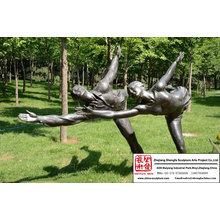 School Large Bronze Sculpture