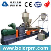 Machine de pelletisation / mélange / recyclage / granulation en plastique à double vis en parallèle