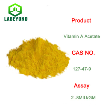 Pharma Grade oder Lebensmittelqualität Vitamin A Acetatpulver