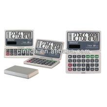 Складной калькулятор / 10 цифр двойной мощности дешевый солнечный калькулятор JS-2010T