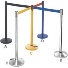 Caliente venta de soporte de la barrera, cola correa barrera, barrera de cola