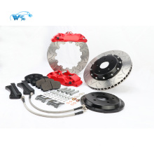 Forged two piece Aluminium alloy body WT5200 4 pot brake kit fit for F30 Or F18 17 rim wheel CP5200 Family - 152mm Mounting Centres - 16.8mm thick pad