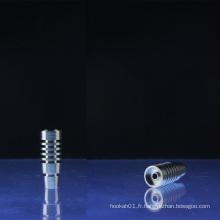 Moelleuse Domeless Designs Clous en titane universel de 14 mm et 18 mm (ES-TN-008)